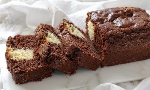 Plumcake Cioccolato e Vaniglia