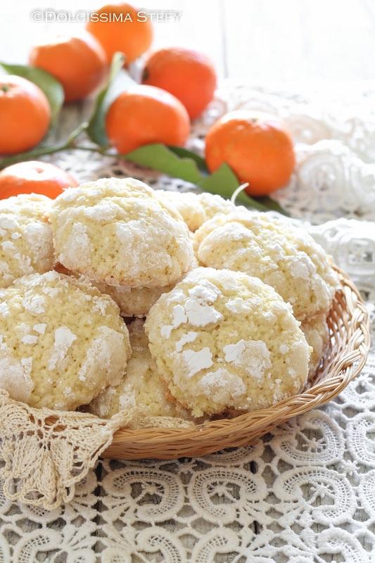 Biscotti morbidi al Mandarino di Dolcissima Stefy