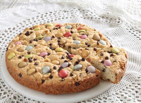 Torta Cookie con Smarties