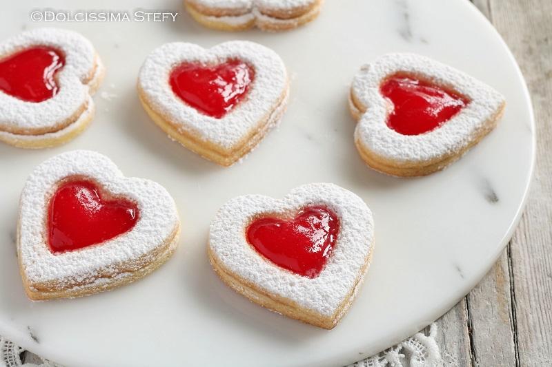 Biscotti dal cuore morbido di Dolcissima Stefy