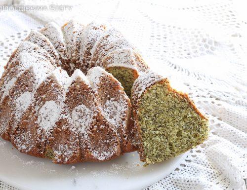 Ciambella Arancia e Semi di papavero, la Poppy seed citrus cake