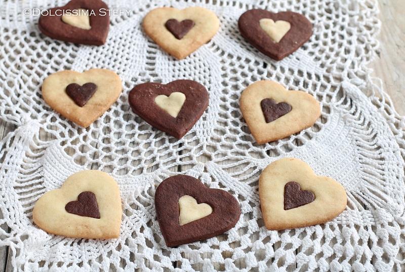Biscotti Vaniglia e Cacao di Dolcissima Stefy