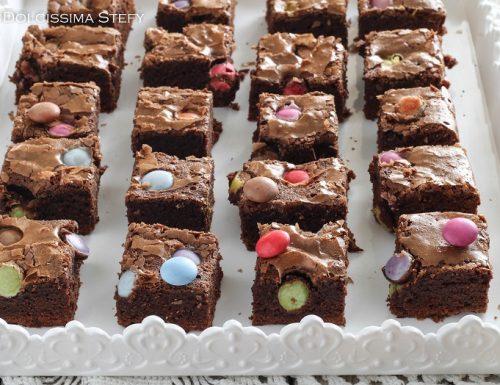 Brownies agli Smarties