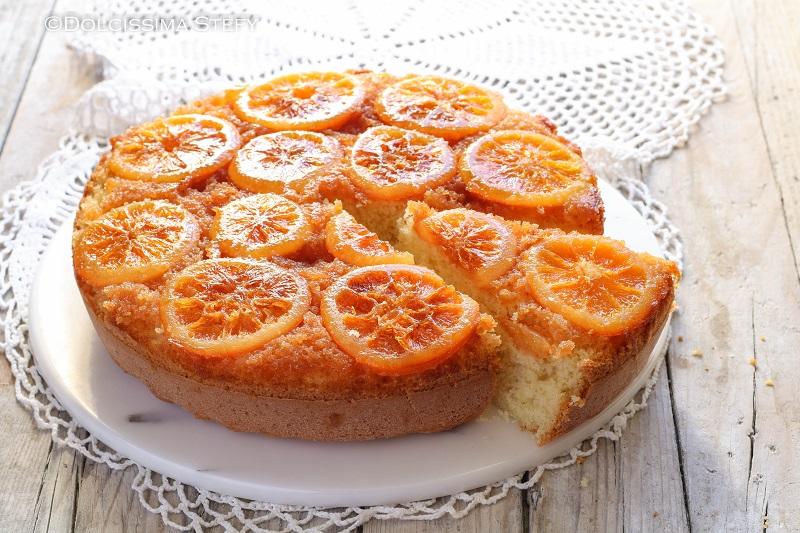 Torta rovesciata all'Arancia di Dolcissima Stefy