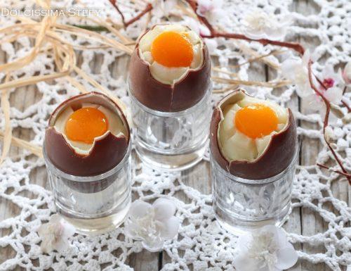 Uova di Cioccolato alla coque