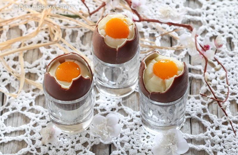 Uova di Cioccolato alla coque di Dolcissima Stefy