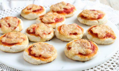 Pizzette veloci senza lievitazione