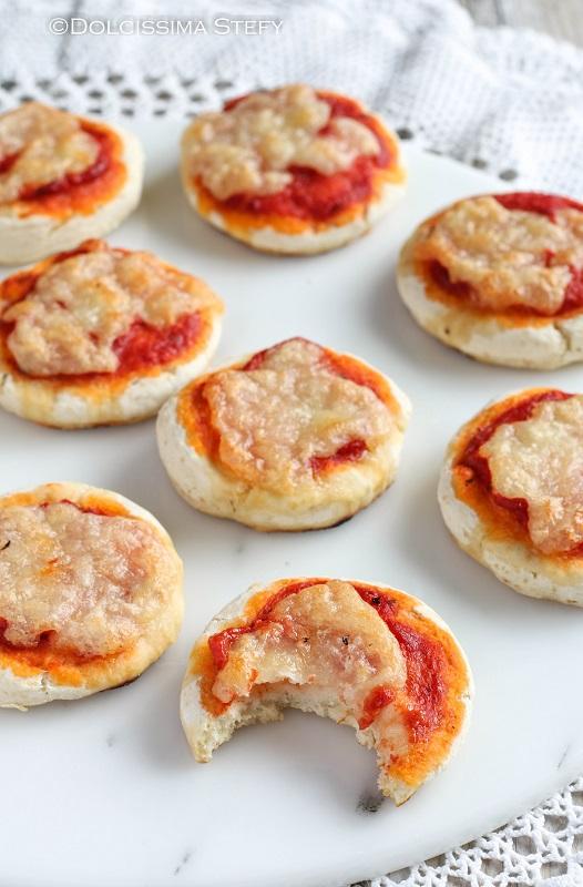 Pizzette veloci senza lievitazione di Dolcissima Stefy