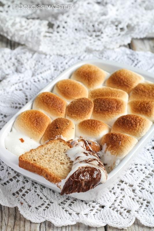 Torta di Marshmallow e Cioccolato di Dolcissima Stefy