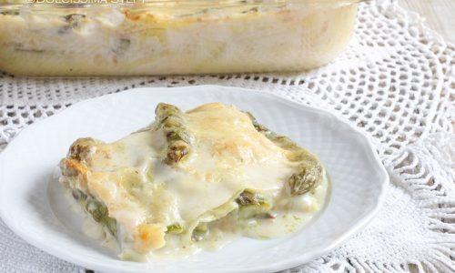Lasagne Asparagi e Scamorza
