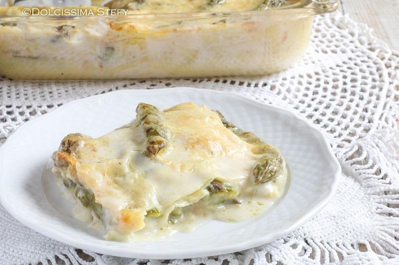 Lasagne Asparagi e Scamorza di Dolcissima Stefy