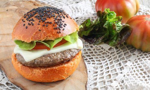 Hamburger di Chianina con formaggio filante