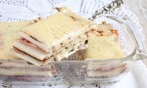 Torta salata di Pancarré