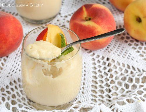 Mousse con succo di frutta