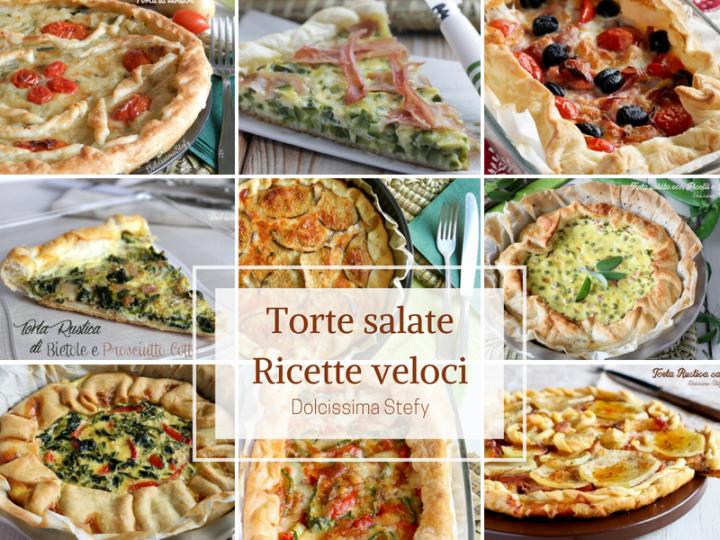 Torte salate ricette veloci Dolcissima Stefy
