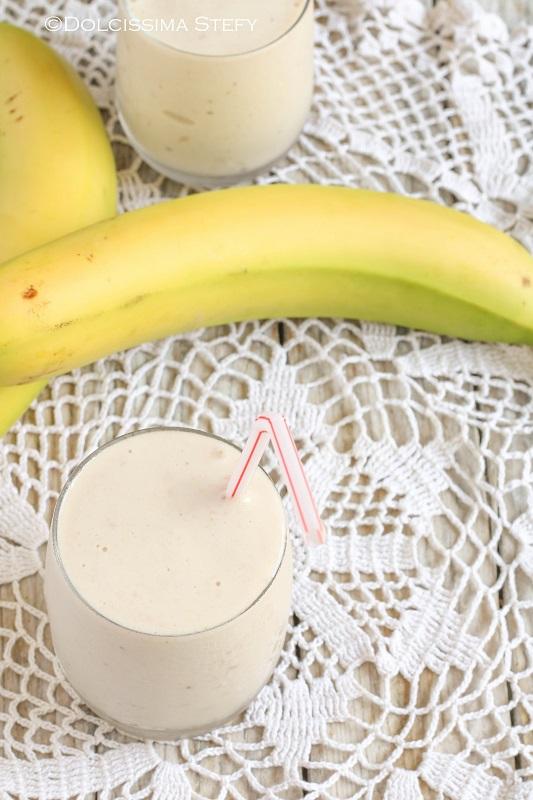 Smoothie alle Banane e Yogurt di Dolcissima Stefy