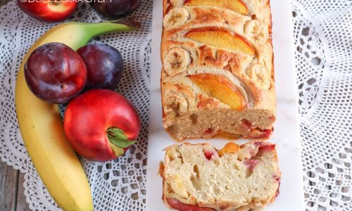 Plumcake alla Frutta fresca