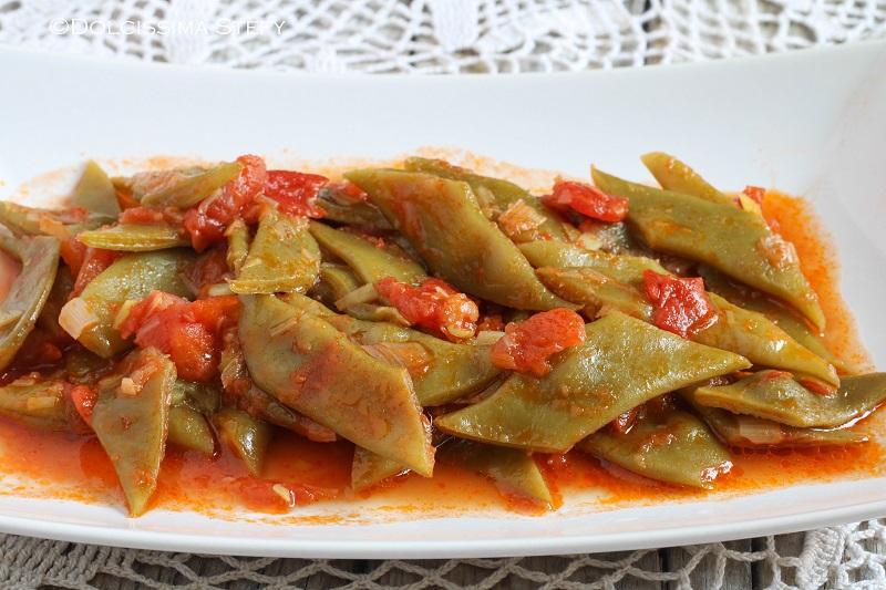 Taccole al pomodoro veloci le ricette di dolcissima stefy for Cucinare le taccole