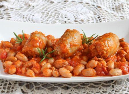 Salsicce e Fagioli all'uccelletto