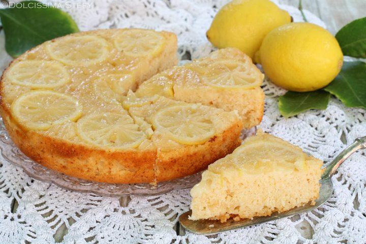 Torta rovesciata al Limone