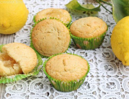 Muffin con Marmellata di Limoni