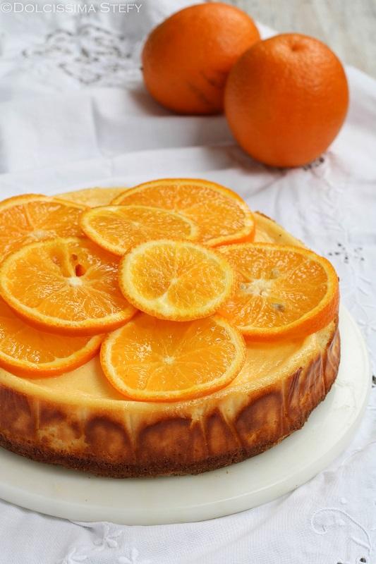 Cheesecake alle Arance