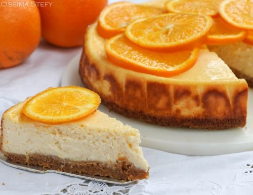 Cheesecake alle Arance