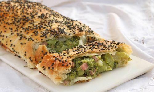 Strudel salato Broccoli e Provola