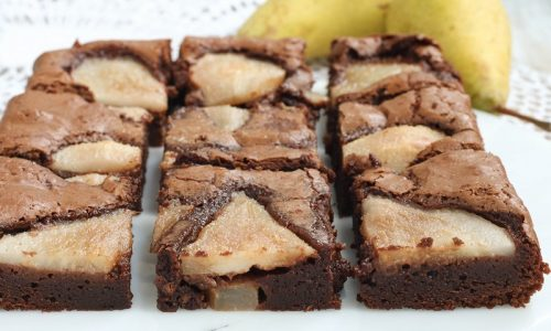 Brownies Cioccolato e Pere