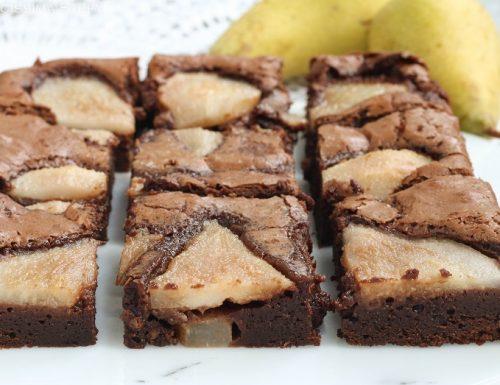 Brownies Cioccolato e Pere