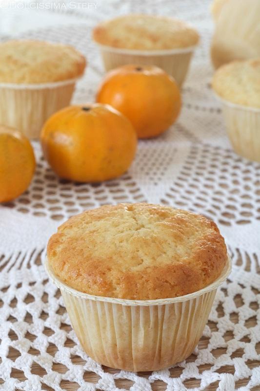 Muffin ai Mandarini con crema pasticcera