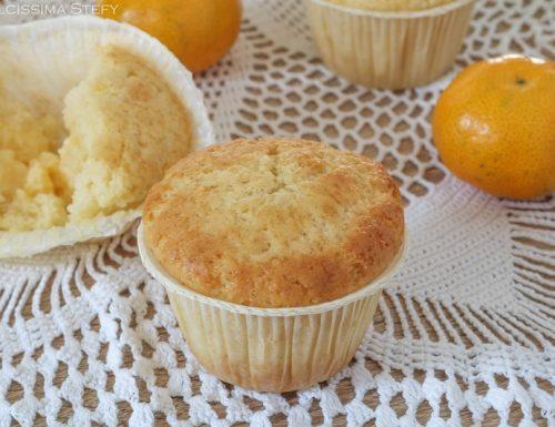 Muffin ai Mandarini con crema