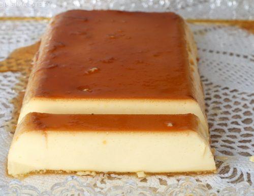 Crème caramel all'arancia