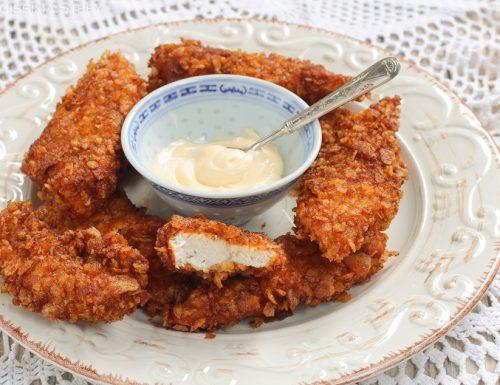 Pollo ai Corn flakes