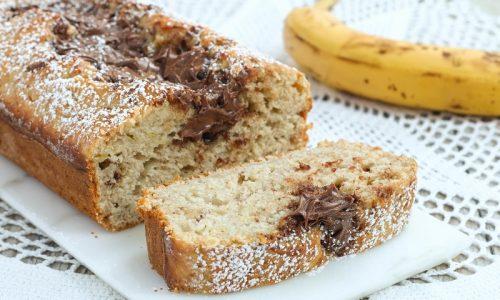 Banana Bread alla Nutella
