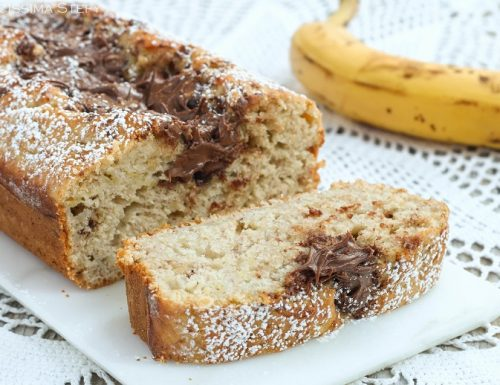 Banana Bread alla Nutella