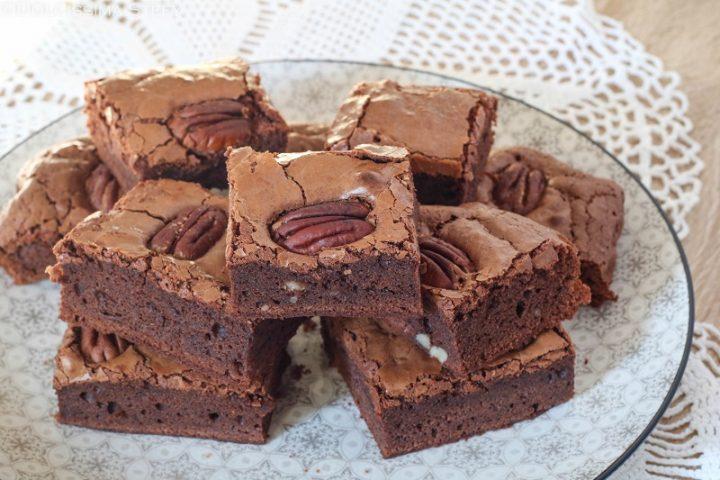 Brownies Noci Pecan e Cioccolato