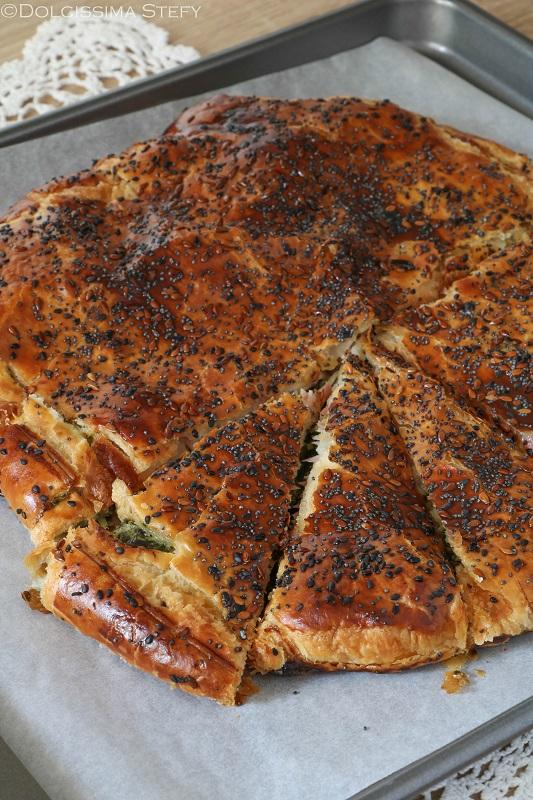 Torta salata Bietole e Scamorza