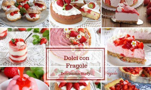 Dolci con Fragole