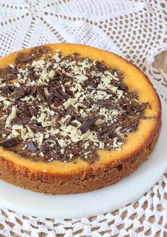 Cheesecake doppio Cioccolato