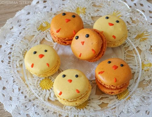 Macarons di Pasqua