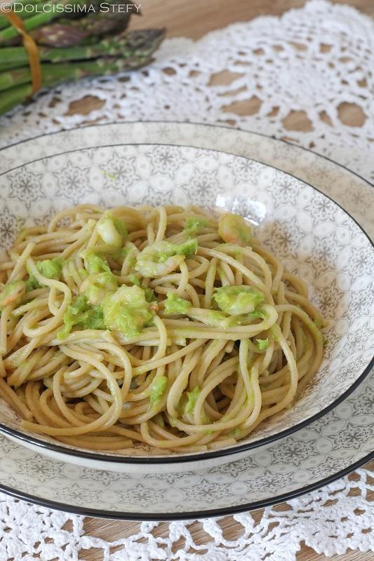 Pasta Asparagi e Gamberetti