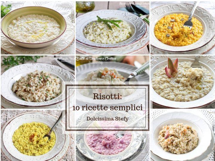 Risotti, ricette semplici