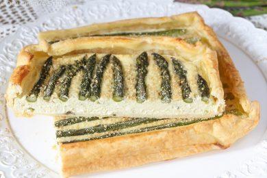 Torta Asparagi e Ricotta