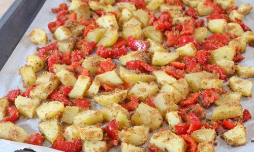 Patate e Peperoni sabbiosi