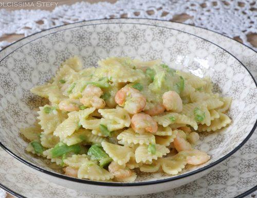 Pasta con Gamberetti e Zucchine