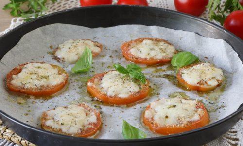 Pomodoro e Mozzarella al forno