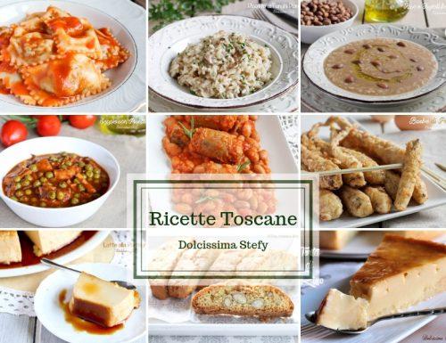 Ricette Toscane, sia dolci che salate