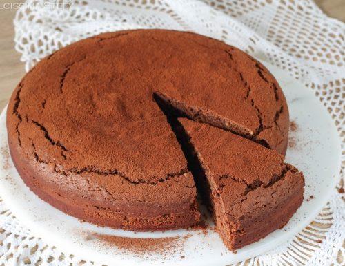 Torta burro d'Arachidi e Cioccolato
