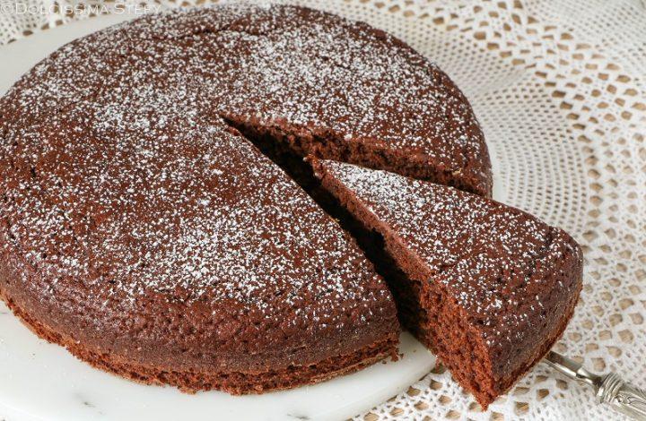 Torta 5 minuti al Cacao
